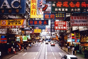Hong Kong is also the home to some of the highest average incomes in the world